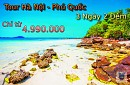 Tour Du Lịch Đảo Phú Quốc từ Hà Nội 3 Ngày 2 Đêm