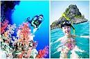 VPQ11. Nam Đảo Phú Quốc Câu Cá Lặn Ngắm San Hô