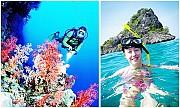 VPQ11. Tour Nam Đảo Phú Quốc Câu Cá Lặn Ngắm San Hô