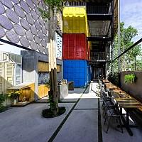 Khách sạn Container độc đáo ở Nha Trang