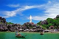 Khung cảnh thơ mộng giữa biển trời Kiên Giang