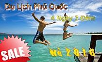 TOUR DU LỊCH PHÚ QUỐC TỪ HÀ NỘI BIỂN HÈ THÁNG 7 (BAO VÉ MÁY BAY)