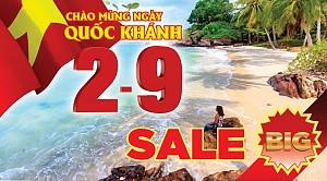 Chương trình Dịp Lễ 2-9 Hà Nội- Phú Quốc 3 Ngày 2 Đêm