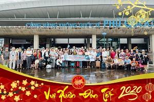Tour  4 Ngày 3 Đêm  Tết Dương Lịch 2020 - Khởi Hành Từ Hà Nội