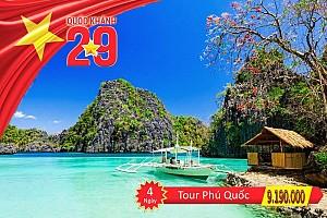 Tour 4 Ngày Nhân Dịp Lễ Mùng 2 Tháng 9 Khởi Hành Từ Hà Nội