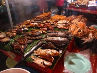 Hải Sản Nướng Ở Chợ Đêm Phú Quốc