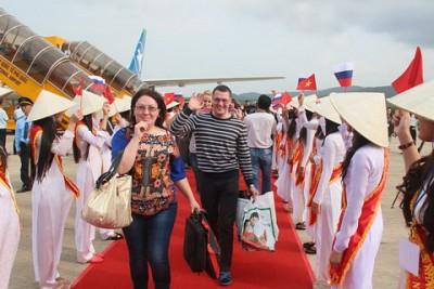 Phú Quốc Đón Chuyến Bay Đầu Tiên Từ Nga
