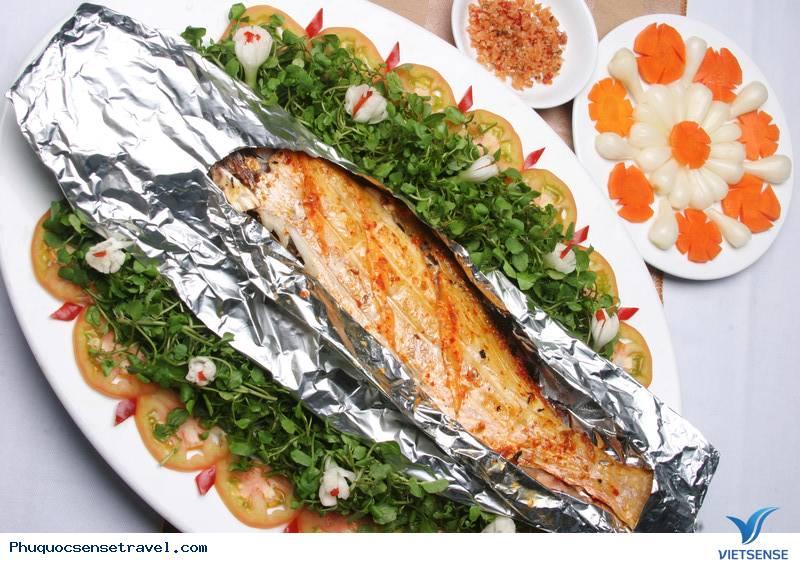 Thưởng thức cá mú nướng Phú Quốc