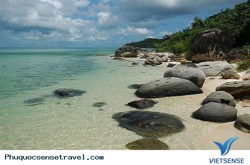 Tour Bắc Đảo Phú Quốc Mũi Gành Dầu