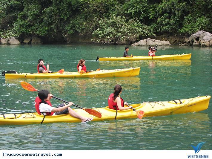 Tour Chèo Thuyền Kayak Trên Sông Cửu Cạn Phú Quốc 1 Ngày