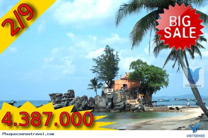 Tour Du Lịch Khuyến Mại Trọn Gói Đảo Ngọc Phú Quốc Từ HCM