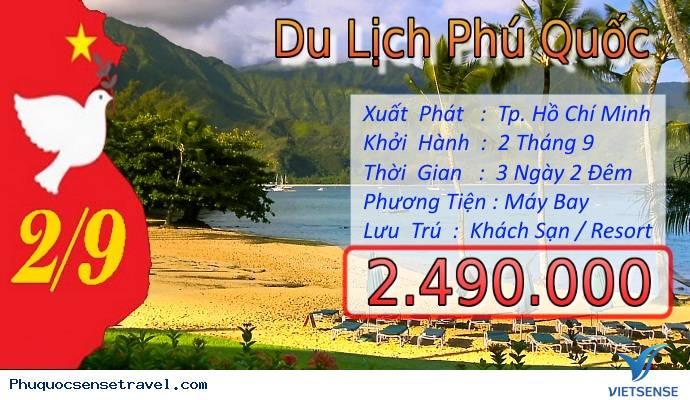 Tour Du Lịch Phú Quốc dịp Quốc Khánh Mùng 2 Tháng 9