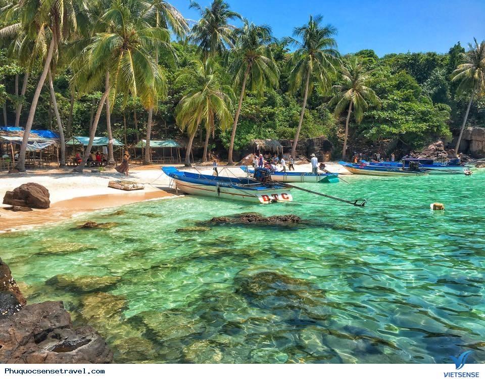 Tour Du Lịch Phú Quốc- Hòn Móng Tay 1 Ngày