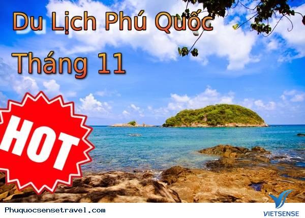 Tour Du Lịch Phú Quốc từ Sài Gòn Tháng 11