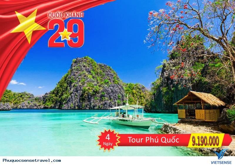 Tour Hà Nội - Phú Quốc 4 Ngày Nhân Dịp Lễ Mùng 2 Tháng 9